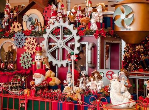 Fábrica de Brinquedos e Papai Noel virtual abrilhantam o Natal do Catuaí Maringá
