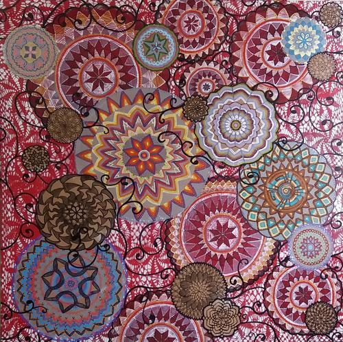 Zuleika Bisacchi Galeria de Arte, apresenta obras de Carla Schwab no Show Room A.YOSHII
