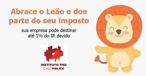 Empresas podem doar até 1% do Imposto de Renda para o Instituto TMO