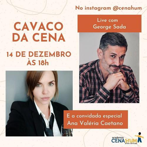 Fotógrafa Ana Valéria Caetano participa do Cavaco da Cena