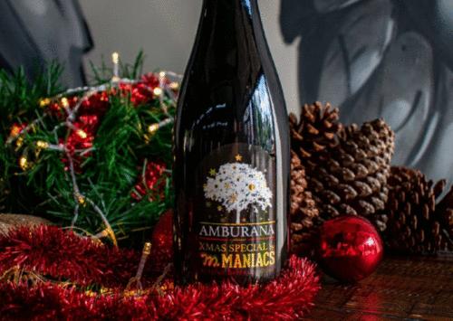 Cervejaria curitibana lança edição especial de Natal envelhecida em barril de cachaça