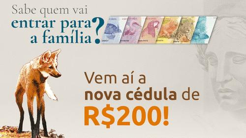 A polêmica nota de R$200,00