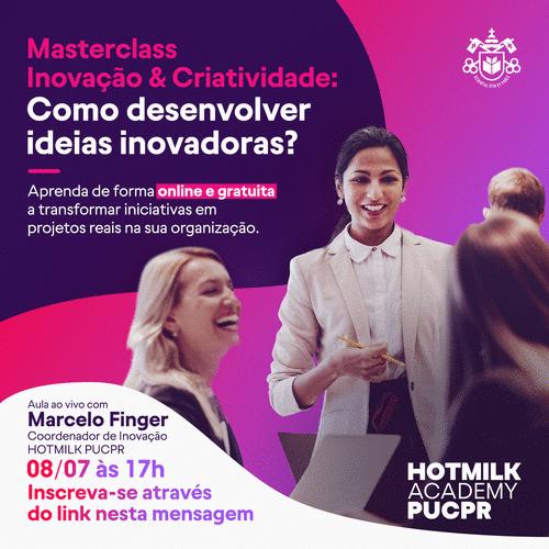PUCPR lança escola voltada à inovação no mercado de trabalho