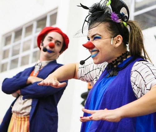 Neste sábado a risada está garantida com os palhaços do Circo S/A