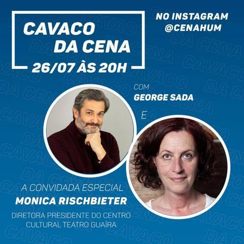 Cena Hum promove bate-papo com diretora do Centro Cultural Teatro Guaira