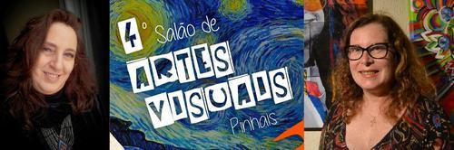 Carla Schwab e Bia Ferreira, artistas de Curitiba, são selecionadas para o 4ºSalão de Artes Visuais de Pinhais