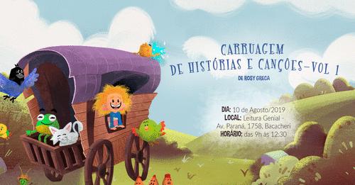 Lançamento do DVD Carruagem de Histórias e Canções Vol.I, de Rosy Greca