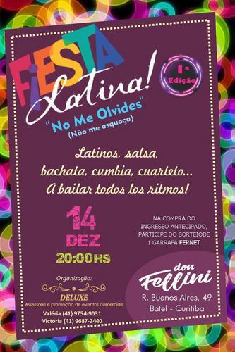 Fiesta Latina em Curitiba - PR