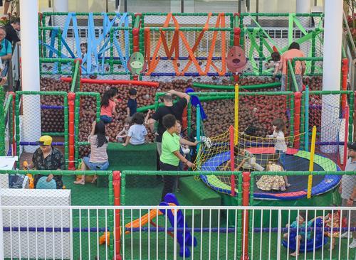 Floresta Divertida é opção de diversão para as crianças no Carnaval