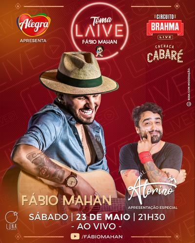 Churrasco, humor e música ao vivo: live reúne cantor, humorista e também aperitivos para o fim de semana
