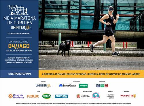 Últimos dias para se inscrever na Meia Maratona de Curitiba