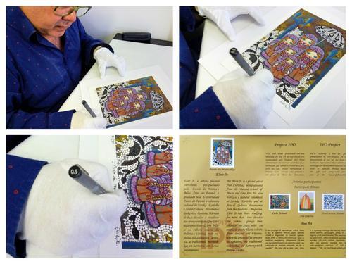 Eloir Jr. assina sua 1ª fine art para o Projeto Cultural do Hospital IPO