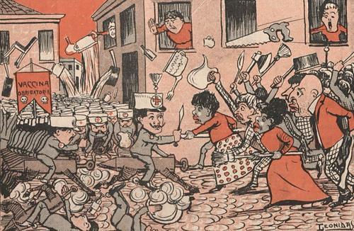 E-book mostra a Revolta da Vacina sob a ótica dos jornais de 1904