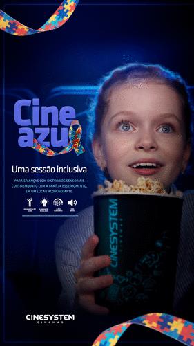 Segunda edição do Cine Azul, projeto inclusivo para autistas, acontece em Curitiba
