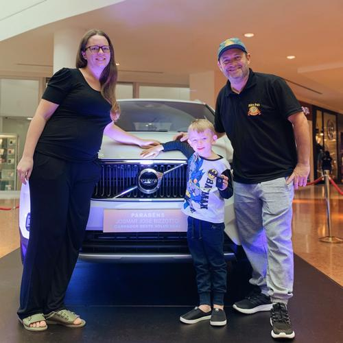 Shopping Palladium anuncia ganhador do Volvo XC40 zero-quilômetro