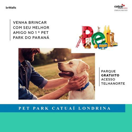 Catuaí Shopping Londrina inaugura o primeiro Pet Park do Paraná