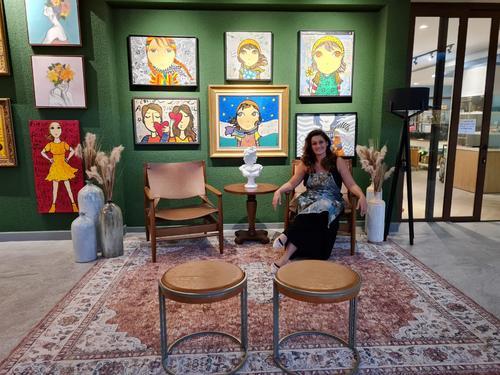 Adri Volpi abre sua primeira Galeria no Plaza Boulevard Itapema