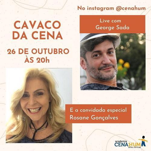 Bailarina Rosane Gonçalves participa do Cavaco da Cena