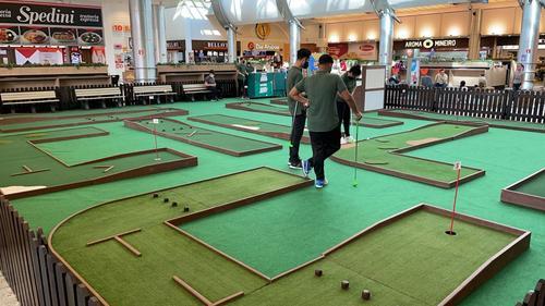 Shopping Estação recebe o Mr. Golf, uma atração para toda a família