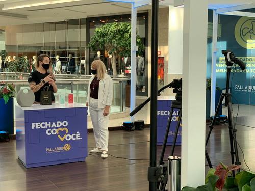 Para impulsionar o comércio, shopping de Curitiba investe em canal de vendas online
