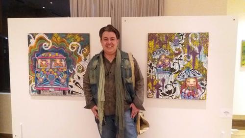 Eloir Jr. é premiado com Menção Honrosa, na 7ª mostra de Artes Plásticas do Clube Duque de Caxias