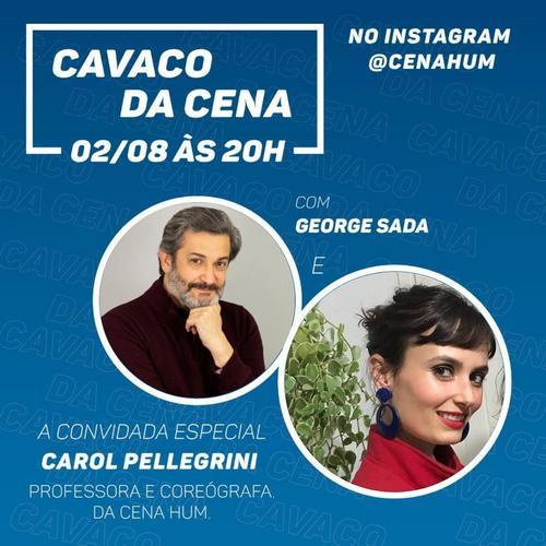 Carol Pellegrini e Marta Morais da Costa participam do Cavaco da Cena Hum