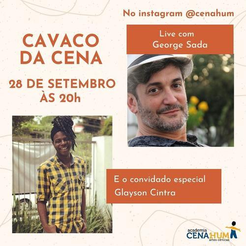 Ator Glayson Cintra participa do próximo Cavaco da Cena