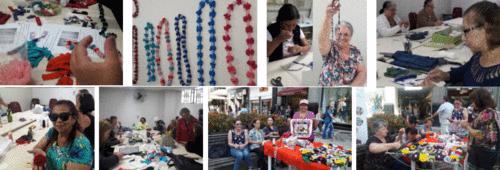 Instituto oferece curso de artesanato e customização gratuito para quem quer incrementar a renda familiar