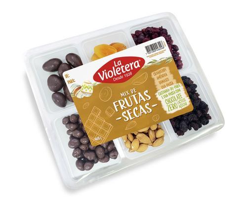 Fruta seca e chocolate saudável: nova bandeja para Páscoa da La Violetera chega ao varejo