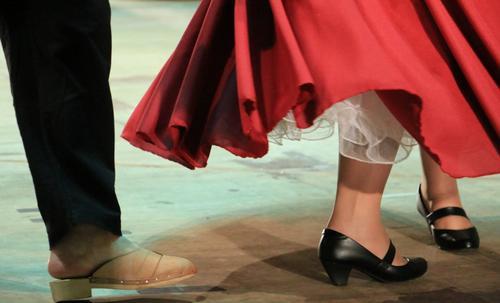 Desafio de dança mobiliza grupos folclóricos