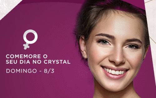 Roleta de Prêmios oferece brindes para as mulheres no Shopping Crystal