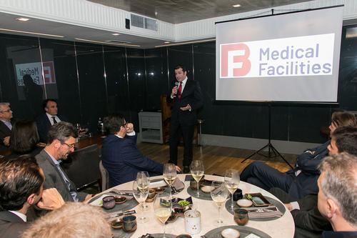 BF Medical Facilities lança empreendimento em jantar exclusivo