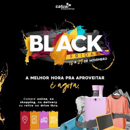 Black Friday do Catuaí Maringá oferece descontos fixos de 70% até o final de novembro