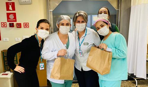 Equipe de Enfermagem do Pilar Hospital recebe homenagem