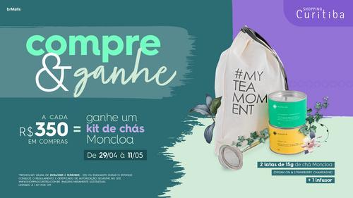 Shopping Curitiba presenteia clientes com kit da Moncloa no Dia das Mães