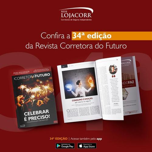 Lojacorr lança edição 34ª da Revista Corretora do Futuro