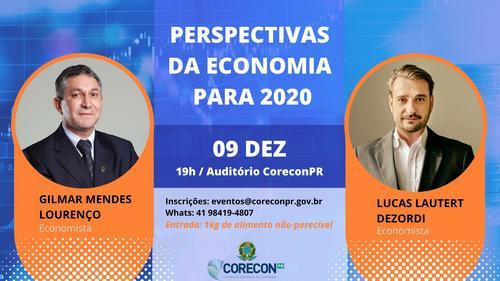 Economistas paranaenses debatem as perspectivas para 2020