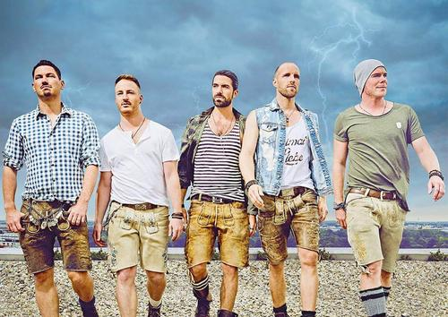 VoXXclub irá fazer pocket show exclusivo no Camarote Oktoberfest mit Eisenbahn