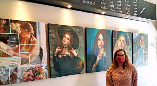 """La Rauxa Café recebe a exposição """"Mulíebre"""" de Bia Ferreira"""