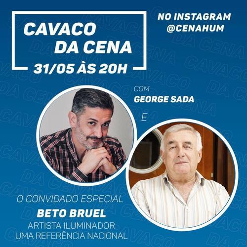 Beto Bruel fala sobre vida e carreira em live da Cena Hum  Multiartes