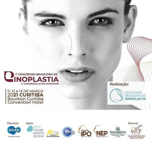 1º Congresso Brasileiro de Rinoplastia terá palestrantes internacionais