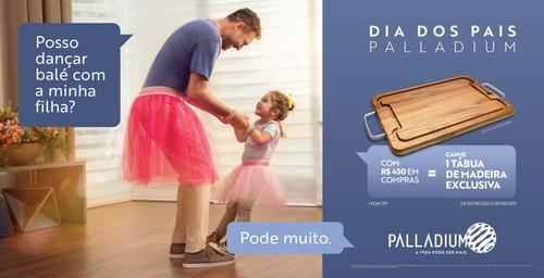 Palladium Curitiba inicia a campanha 'Compre e Ganhe' para o Dia dos Pais