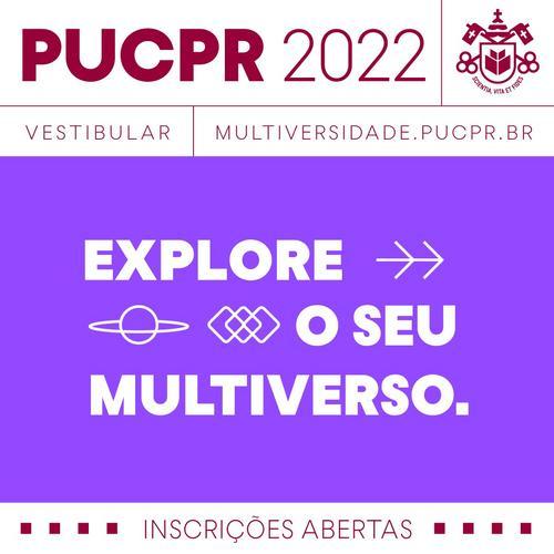 PUCPR abre inscrições para Vestibular 4.0 para o início em 2022