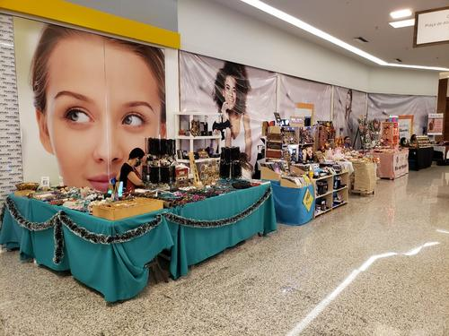 Feira do Artesanato movimenta Ventura Shopping