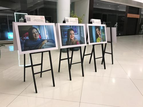 Catuaí Shopping Londrina recebe exposição fotográfica de mulheres que venceram o câncer de mama