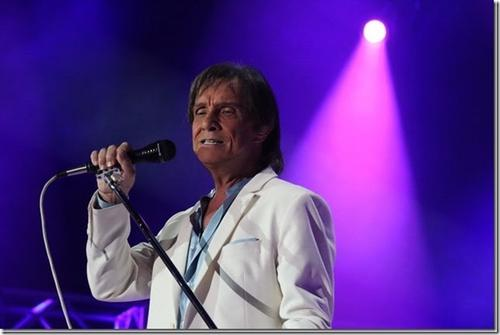 ROBERTO CARLOS EM SHOW EXTRA NO DIA 30, NA ÓPERA DE ARAME