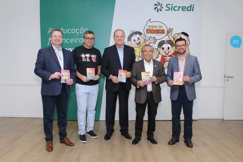 Sicredi e Mauricio de Sousa Produções lançam desenhos animados sobre educação financeira