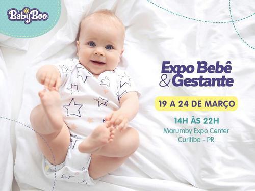 """Visitantes poderão participar do sorteio """"Uma vida de fraldas"""", da Baby Boo, na Expo Bebê&Gestante"""