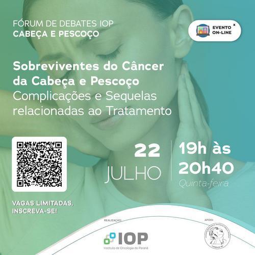 Evento discute complicações e sequelas do tratamento do câncer de cabeça e pescoço