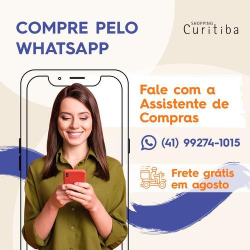 Dia dos Pais do Shopping Curitiba tem frete grátis e  Assistente de Compras